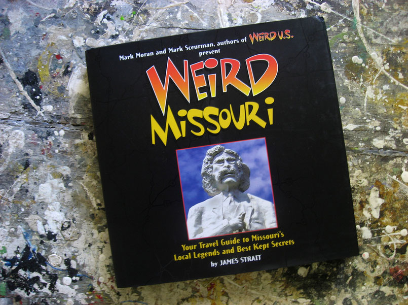 Me, brain sandwiches, and 'Weird Missouri'