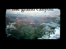 The Grand Canyon trip, 2001