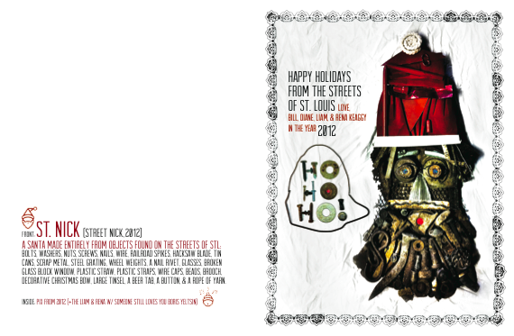 Holiday card, 2012