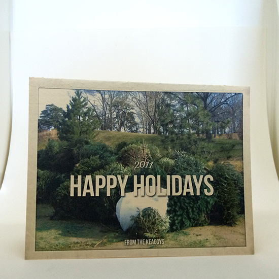 Various holiday cards