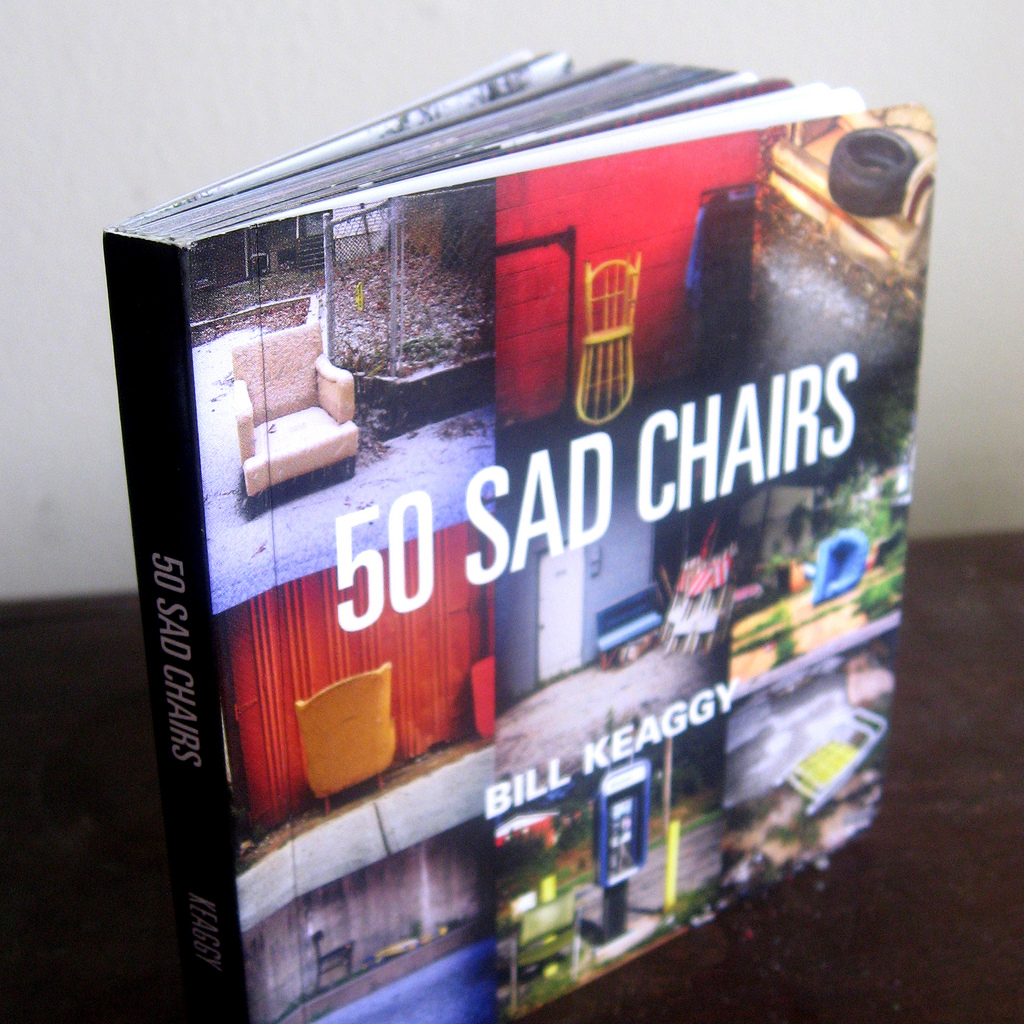 '50 SAD CHAIRS' — the book
