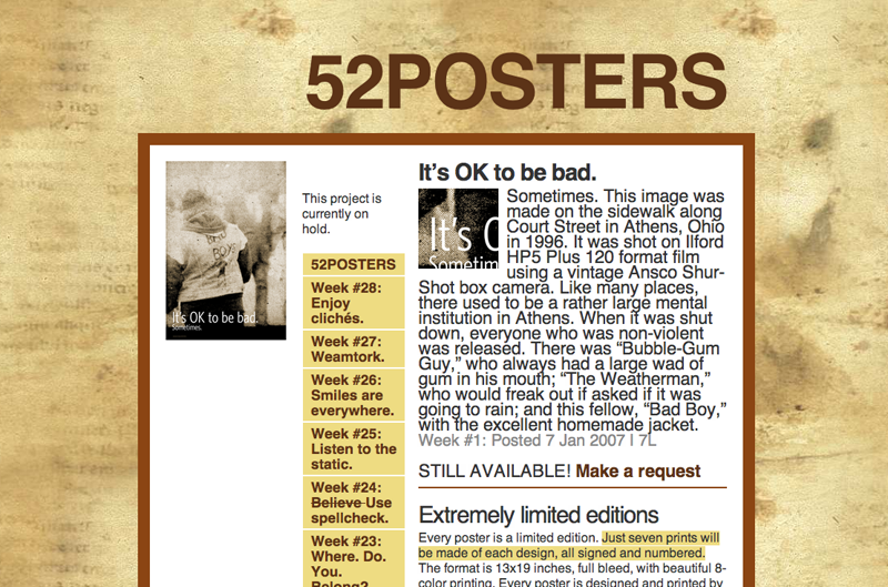 52 POSTERS