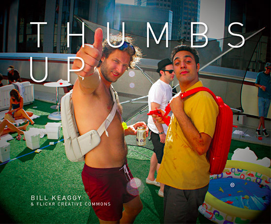'THUMBS UP'