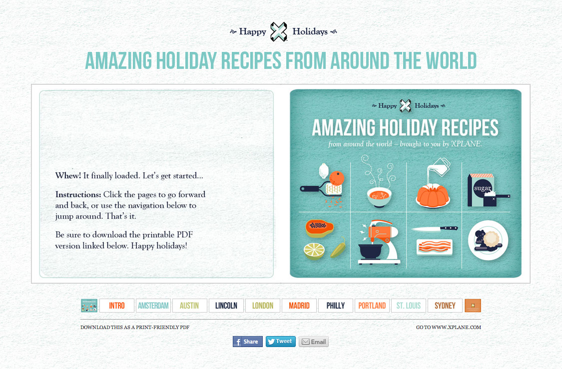 Amazing holiday recipes from around the world
