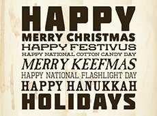 Holiday card, 2013