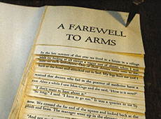 Undensed book #2: A Farewell to <strike>&nbsp;Arms&nbsp;</strike> Feet